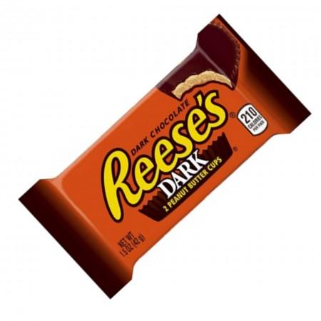REESES DARK CHOCOLATE PEANUT BUTTER 42gr SNACK AMERICANI
