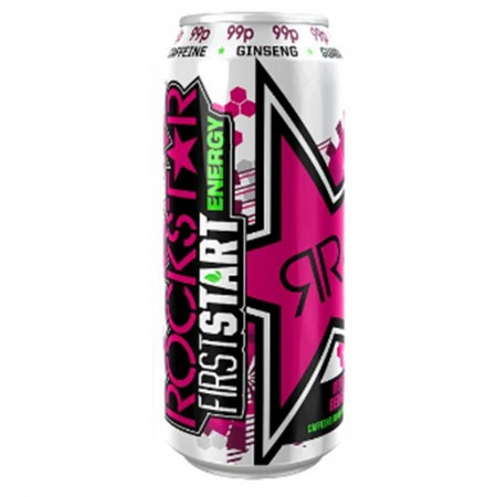 ROCKSTAR FIRST START MIXED BERRY ENERGY DRINK 500ml