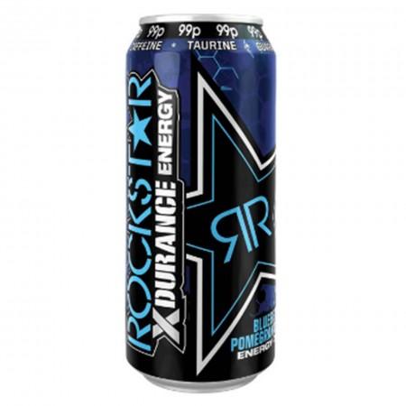 ROCKSTAR XDURANCE ENERGY DRINK 500ml MIRTILLI