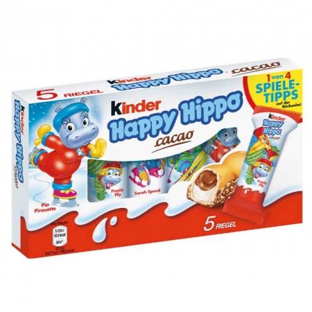 KINDER HAPPY HIPPO BOX DA 5pz COCOA VARIANTE DISEGNO CIOCCOLATO