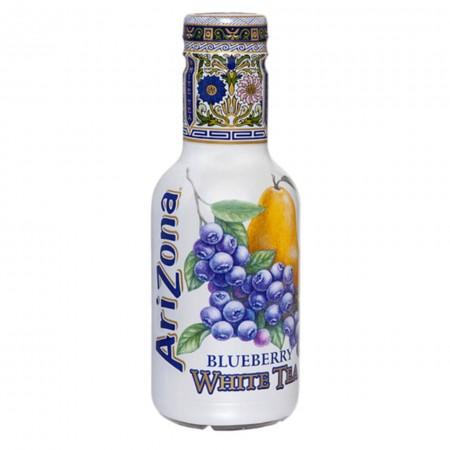 ARIZONA TEA DA 500 ML ICE THE WHITE BLUEBERRY ( TE BIANCO CON MIRTILLI ) USA