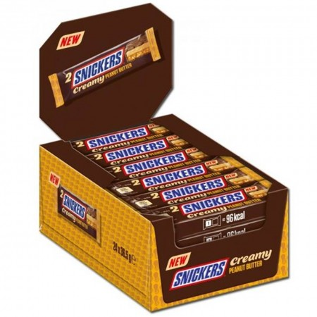 SNICKERS PEANUT BUTTER 24x36g