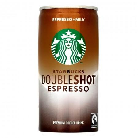 STARBUCKS DOUBLE SHOT DA 200ml CAFFE' ESPRESSO ARABICA E LATTE
