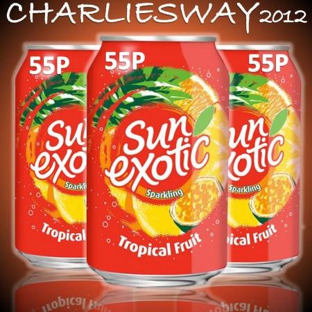 SUN EXOTIC SUCCO GUSTO TROPICAL ( 3 x 330ml ) SPECIAL PRICE SODA